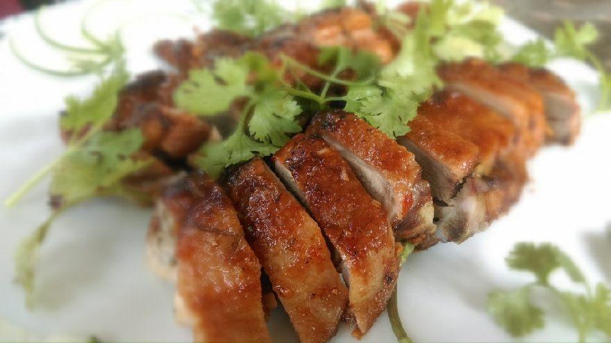 Der Asia Imbiss Fong Linh mit leckeren Essen in Bielefeld.